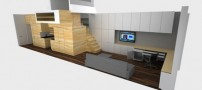 عکسهای طراحی بی نظیرخانه ای به مساحت43 متر