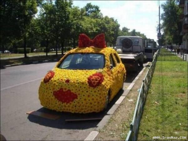 عکس های دیدنی از خنده دار ترین اتومبیل های جهان