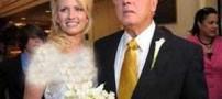 ازدواج یک فرماندار 84 ساله با دختر 32 ساله +عکس