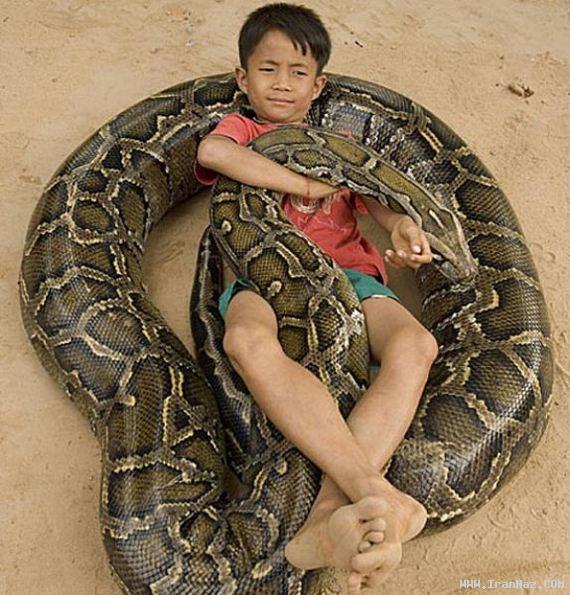 عکس هایی عجیب از باور نکردنی ترین دوستی دنیا !!