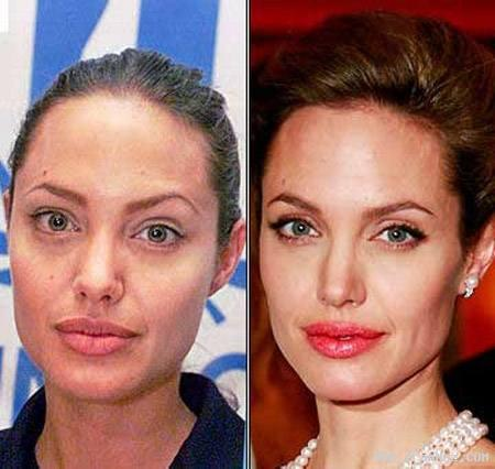 عکس هایی از بازیگران معروف زن هالیوود بدون آرایش