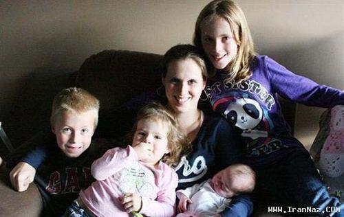 زنی که نمی دانست باردار است و ناگهان… ! +عکس
