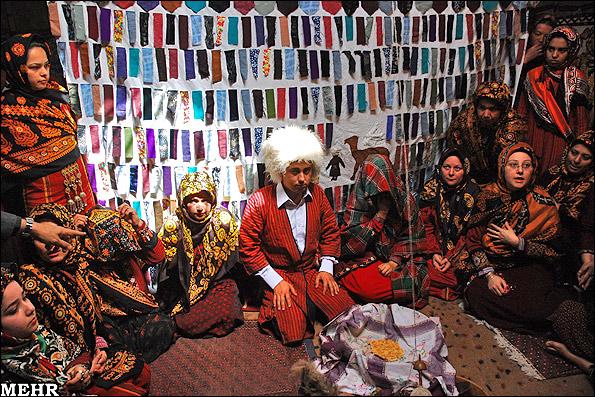 گزارش تصویری: جشن ازدواج ترکمنها