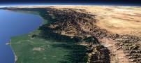 دو عکس ماهوارهای زیبا از دماوند و شمال!
