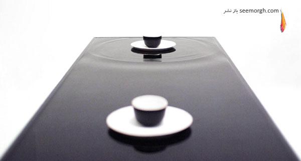 طراحی میز عجیب با الهام از حالت امواج!