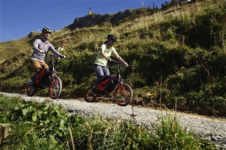 دوچرخه تاشو در کوله پشتی دوچرخه سواران!