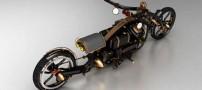 عکسهایی از موتور سیکلت های عجیب روسی