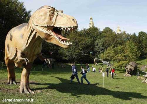 عکسهایی دیدنی ژوراسیک پارک در کی یف
