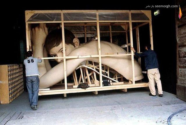 مجسمههایی عجیب و فوقالعاده طبیعی!!
