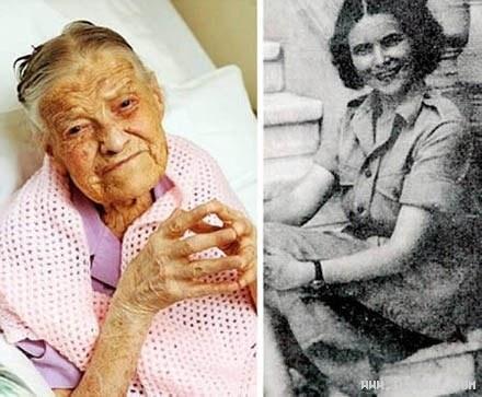 دختری 105 ساله که هرگز ازدواج نکرده است +عکس
