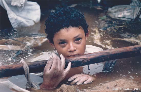 دردناک ترین و غم انگیز ترین عکس های تاریخ بشریت