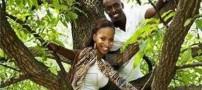 ازدواج و بچه دار شدن یک خواهر و برادر با هم +عکس