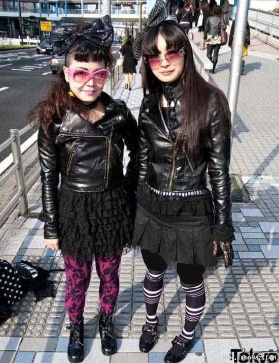 عکس های دختران ژاپنی تحت تاثیر سبک لیدی گاگا!