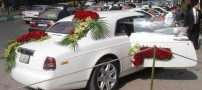 گرانقیمت ترین ماشین عروس ایران در اصفهان +عکس