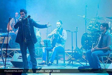 کولاک شدید در کنسرت علی اصحابی!! +عکس
