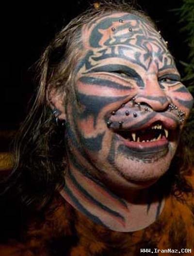 عکس هایی از وحشتناک ترین و زشت ترین زن جهان