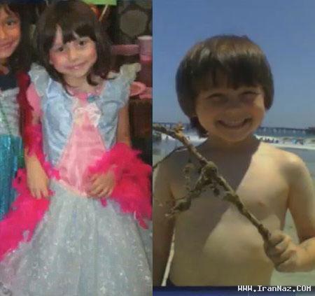 تغییر جنسیت و دختر شدن پسری 8 ساله! +تصاویر