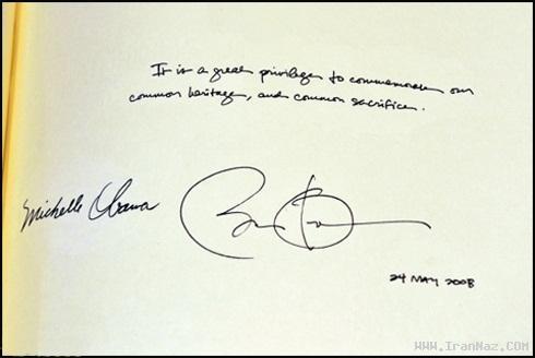 سوتی جالب و تاریخی اوباما در کلیسای لندن +عکس