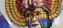 عکس های دیدنی از جشنواره زیبای نقاشی روی بدن