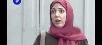 چهره جالب سالومه هنگام بازی کردن در سریال ایرانی