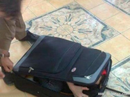 قاچاق باور نکردنی دختری 20 ساله با کیف!!! +عکس