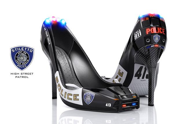کفش فانتزی ودیدنی پلیس!! (عکس)