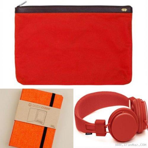 انتخاب نارنجی مایل به سرخ به عنوان رنگ سال 2012