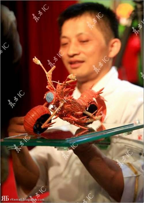 عکس های باورنکردنی از ساخت موتور با خرچنگ!!