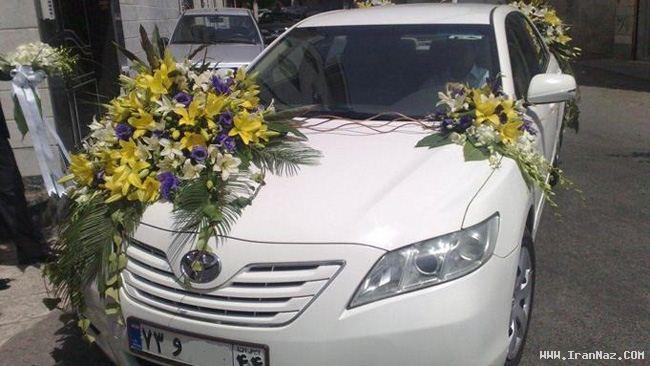 عکس هایی از جالب ترین ماشین عروس های ایرانی