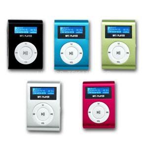 MP3 PLAYER اپل با صفحه نمایش و رادیو
