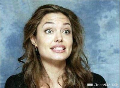 عکس های جالب از ژستهای غیر رسمی آنجلینا جولی