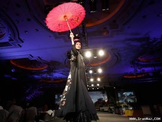 عکس های جشنواره مد لباس زنانه اسلامی در مالزی