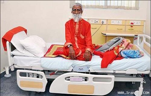 مردی عجیب که 70 سال است هیچ غذا و آبی نخورده