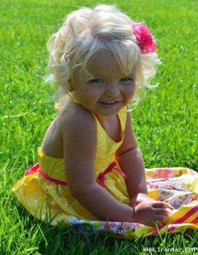 عکس های دختری 2 ساله که یک مانکن پولدار شده!