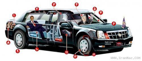 مشخصات جالب ماشین رئیس جمهور آمریکا! +عکس