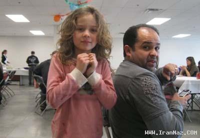 دختر ایرانی الاصل بازیگری معروف در هالیوود! +عکس
