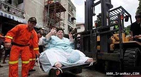 کسب در آمد جالب مرد تایلندی از بدن یک زن! +تصاویر
