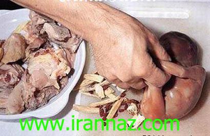 وحشتناکترین غذای جهان، سوپ جنین انسان +تصاویر ، www.irannaz.com
