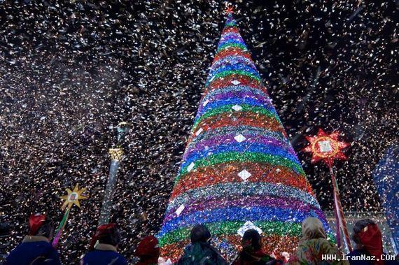 عکس های دیدنی جشن کریسمس در سراسر جهان