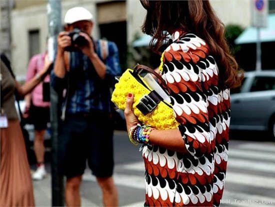 عکس های بسیار جالب دختر های فشن پاریس