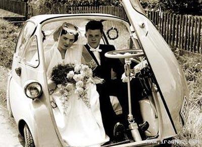 زنی که عاشق ازدواج کردن است !!! ( عکس )
