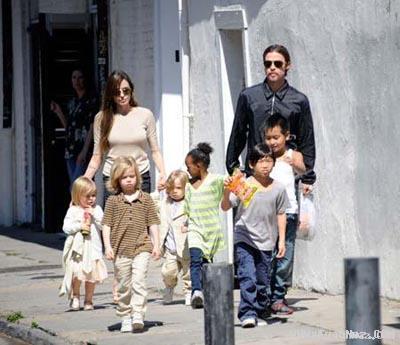 آنجلینا جولی باز هم یک بچه دیگر می خواهد! +عکس
