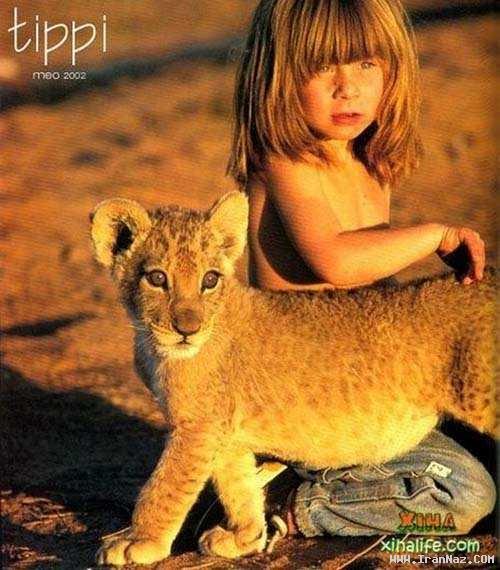 عکس هایی دیدنی از زندگی دختری شجاع با حیوانات