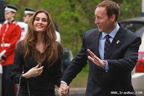 ازدواج کردن یک دختر ایرانی با وزیر دفاع کانادا! +عکس