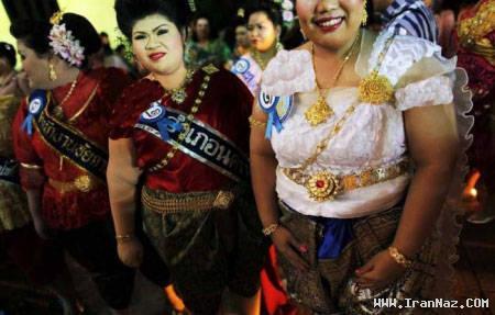 عکسهای مسابقه ملکه زیبایی خانمهای بالای 80 کیلو