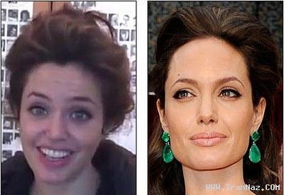 شباهت باور نکردنی بازیگر اسپانیایی به آنجلینا جولی!