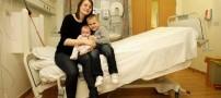 فداکاری باور نکردنی زنی برای تولد فرزند خود! +تصاویر