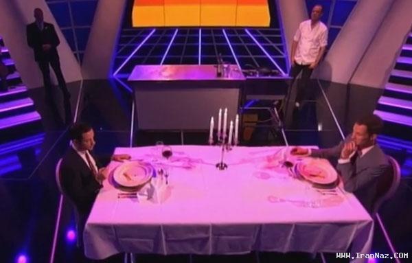 عکس های آدمخواری دو نفر در برنامه زنده تلویزیونی!!