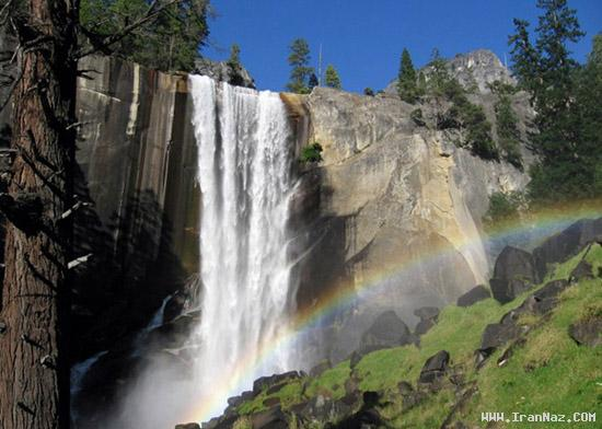 عکس های بسیار دیدنی از زیباترین آبشار های جهان ، www.irannaz.com