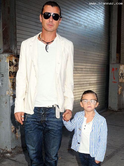عکس های دیدنی از پدر و پسرهای مشهور هالیوودی